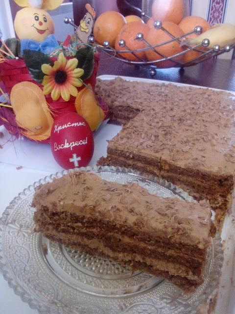 Čokoladni kolač sa ukusom kafe