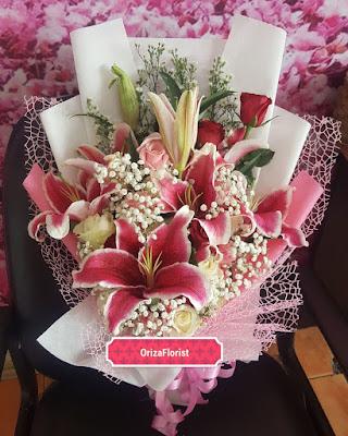 jual hand bouquet wedding surabaya, toko hand bouquet di surabaya, hand bouquet wedding di surabaya