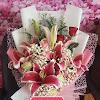 Handbouquet Lily Rose