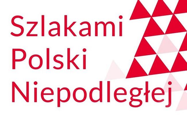 Logo konkursu Szlakami Polski Niepodległej