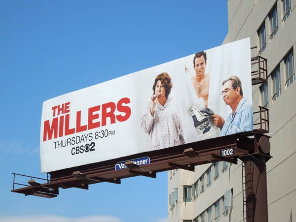 The Millers series premiere billboard