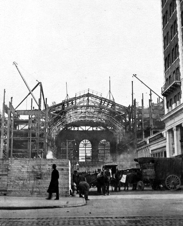 Estructura metálica de Grand Central Terminal en Nueva York