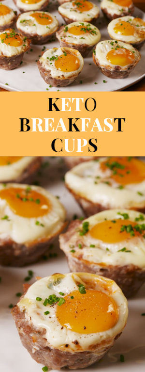 Keto Breakfast Cups