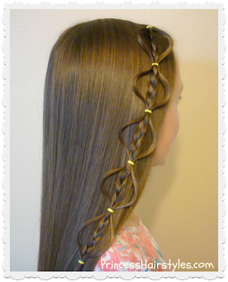 Adorable accent braid, the floating bubble braid (video tutorial)