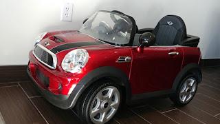 MINI kiddie car