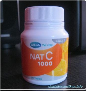 Nat C 1000mg Membantu Merawat Kesehatan Kulit