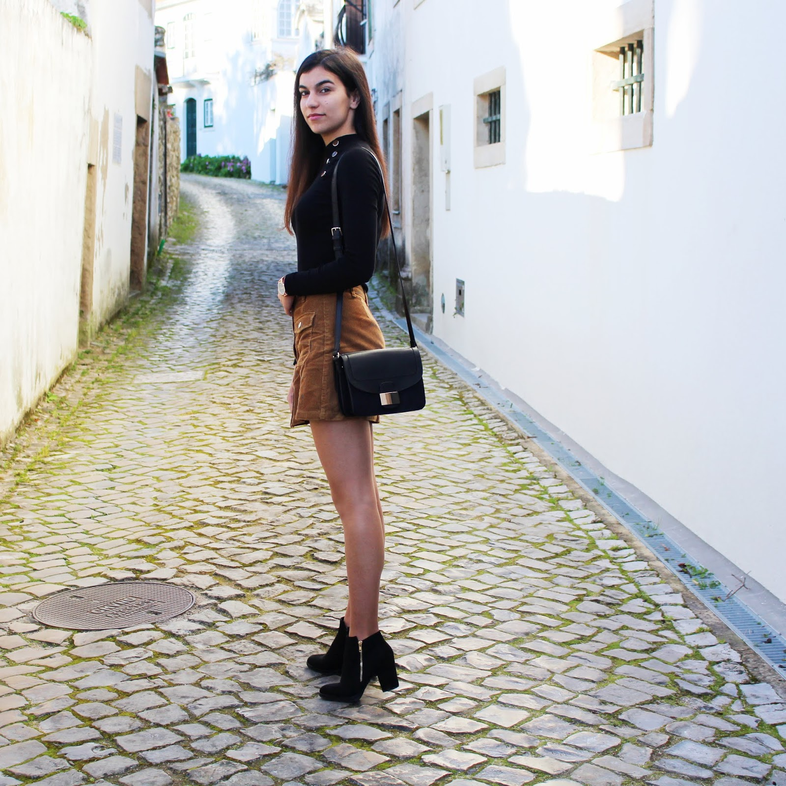 Bombazine Skirt Outfit