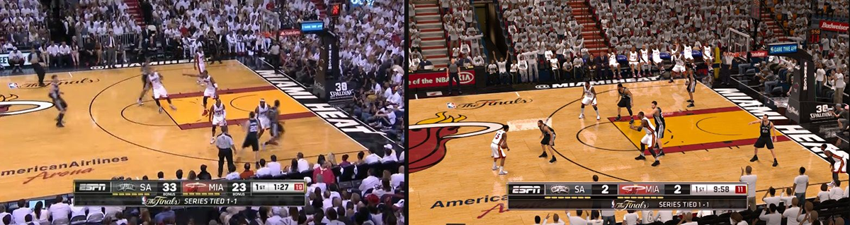 Real Life NBA vs NBA 2K (PC)