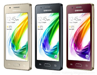 Harga Samsung Z2 dengan Spesifikasi OS Tizen