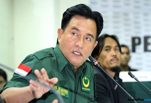 Yusril: Tak Ada Track Record Prabowo-Sandi Pejuang Islam