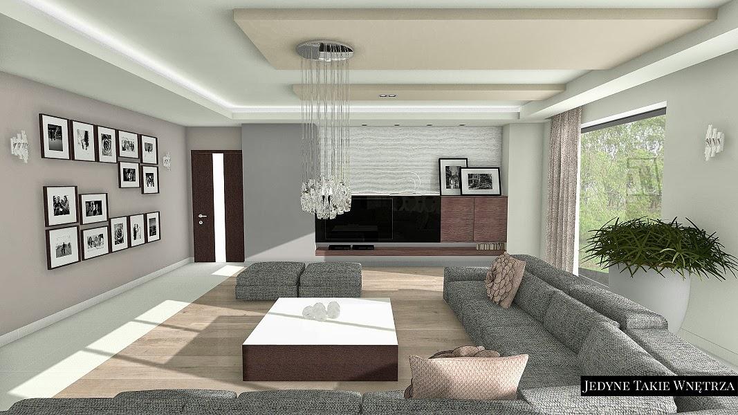 Eleganckie wnętrze domu w stylu glamour i skandynawski