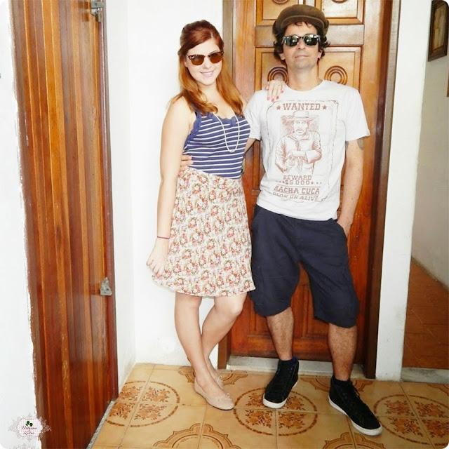look de casal, chico rei, look de casal, jell e marcelo, blog retrô, urbano e retrô