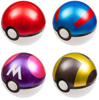 Tomy Monster Collection 20th Anniversary Poke Ball Great Ball Master Ball Ultra Ball