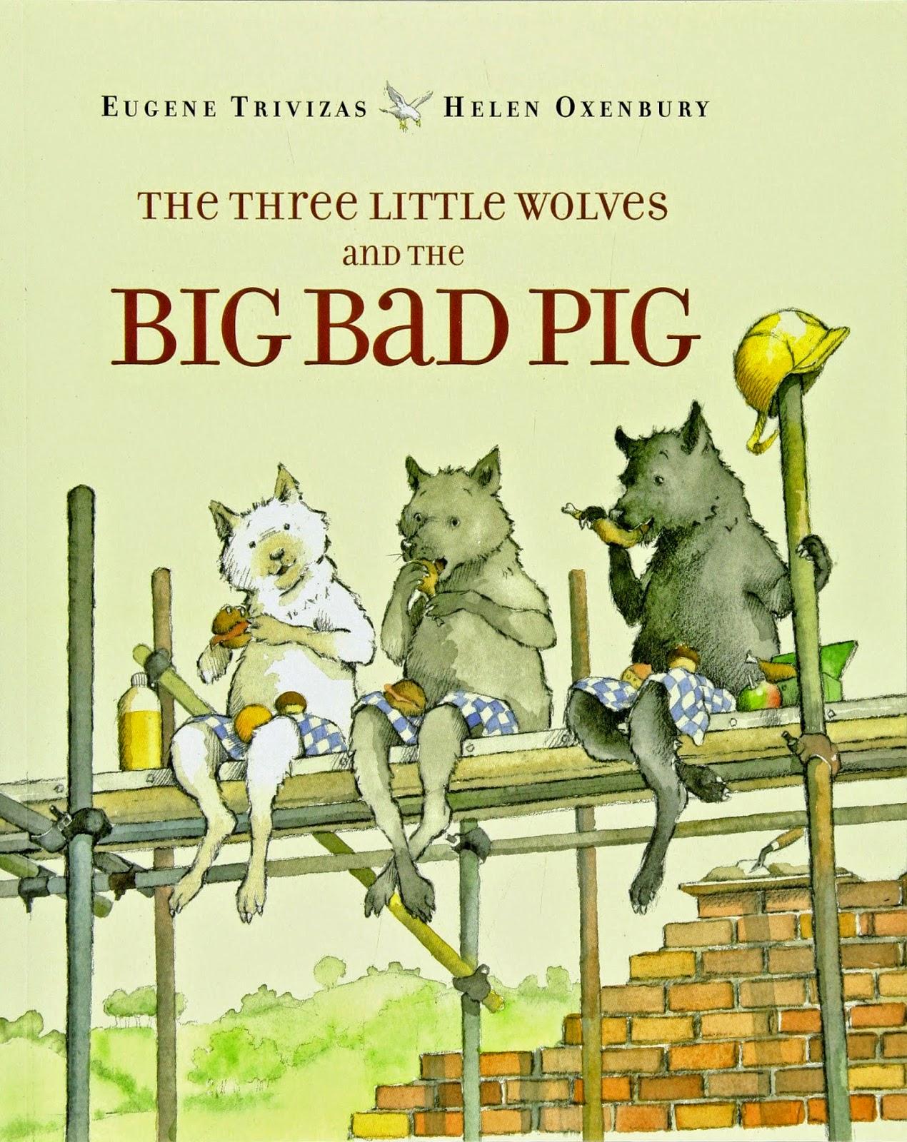 http://www.amazon.com/Three-Little-Wolves-Big-Bad/dp/068981528X/ref=sr_1_1?ie=UTF8&qid=1422377681&sr=8-1&keywords=three+little+wolves