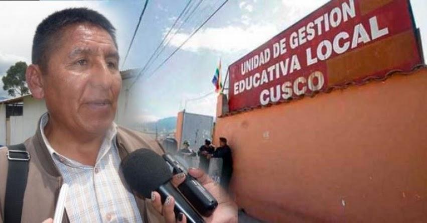 Abren nuevo proceso sancionador en contra del director de la UGEL Cusco