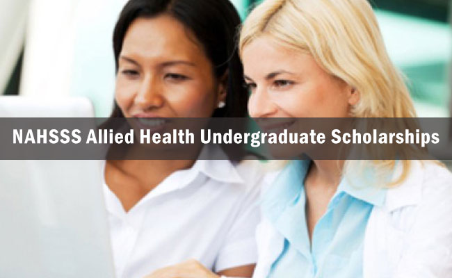 NAHSSS Allied Health Undergraduate Scholarships in Australia, 2017