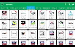 تطبيق Solid Streamz TV لمشاهدة القنوات التلفزيونية المشفرة