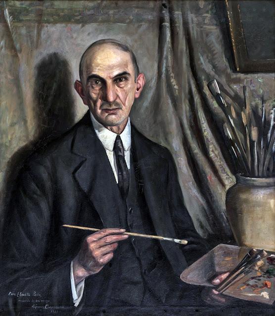 Ricardo Gómez Campuzano, Portraits of Painters, Fine arts, Self-Portraits
