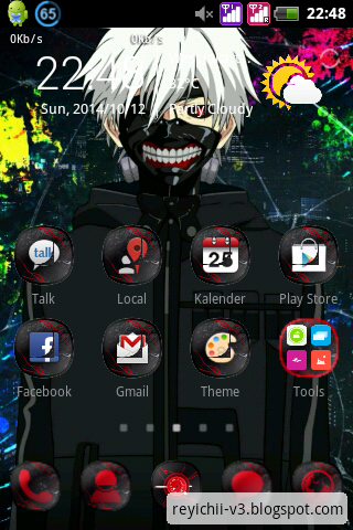 Tokyo Ghoul Android Theme V2   RAMLeague
