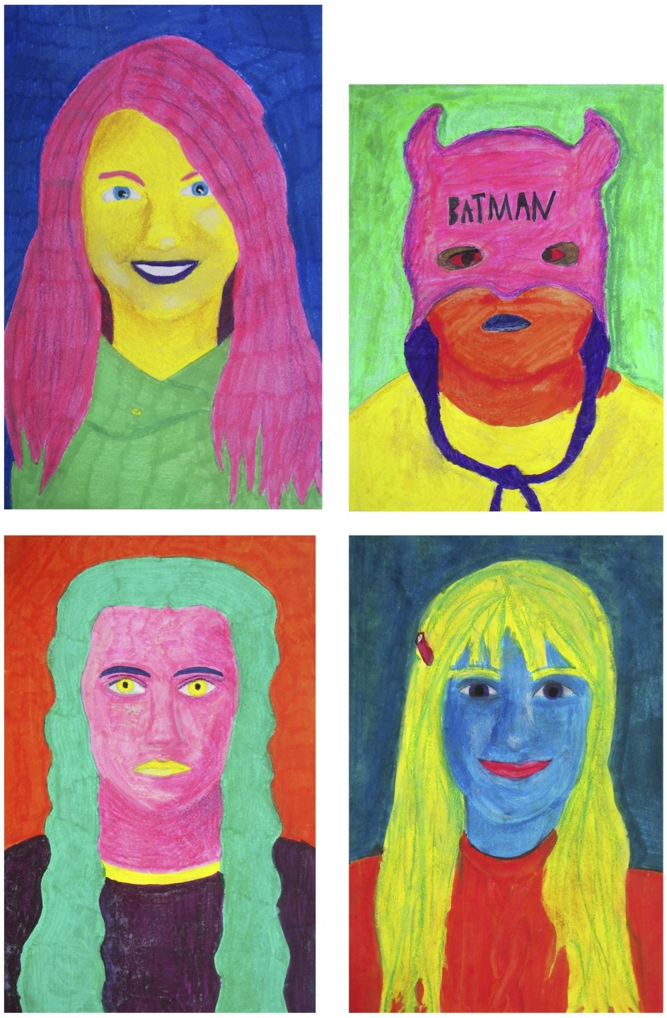the rolling artroom  pop art self portraits 7