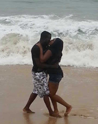 yomi gold mercy aigbe kissing