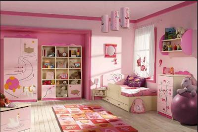Desain Rumah Nuansa Pink Yang Cantik 6