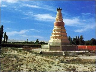 เจดีย์ม้าขาว (White Horse Pagoda)