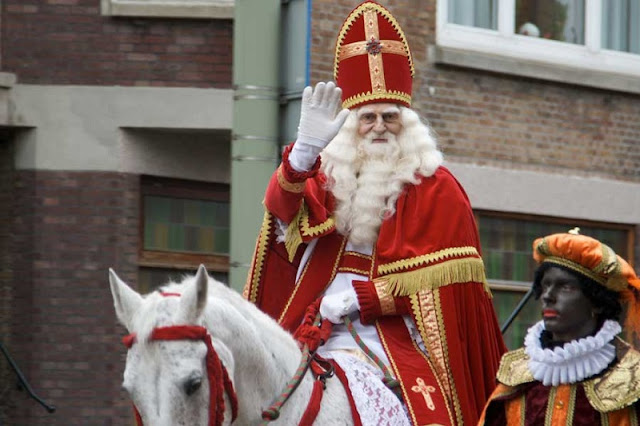 Festa de Sinterklaas em Amsterdã