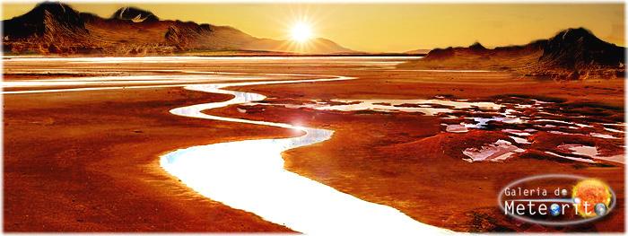 NASA confirma ter encontrado rios de água líquida em Marte