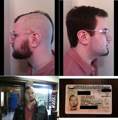Lustige Männer Bilder - Bierwette auf Ausweis