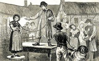 تاريخ عادة الزوجات بريطانيا