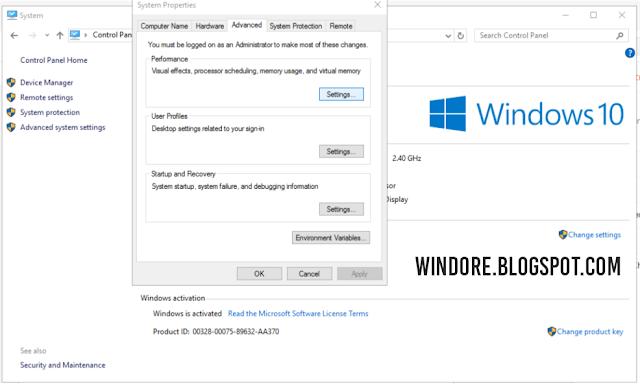 Satu Cara Mudah Mempercepat Tampilan Windows 10