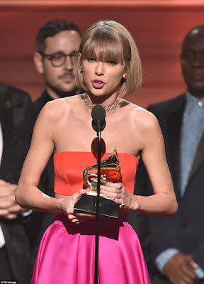 taylor swift wins album of the year grammy again
