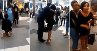 Man Rejects His Girlfriend's Proposal, She Breaks Down In Tears (Video)