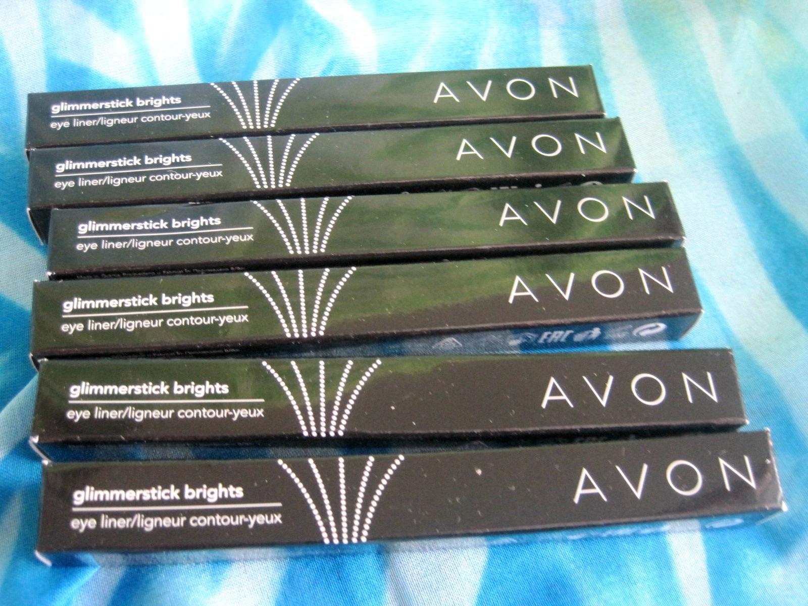 Avon eye liner, Avon glimmerstick brighst, mixoflife