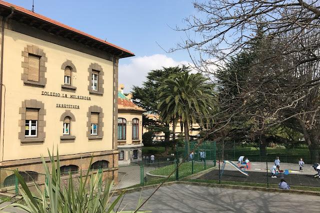 Edificio de la Fundación Miranda que acoge el conservatorio y fue sede del colegio La Milagrosa