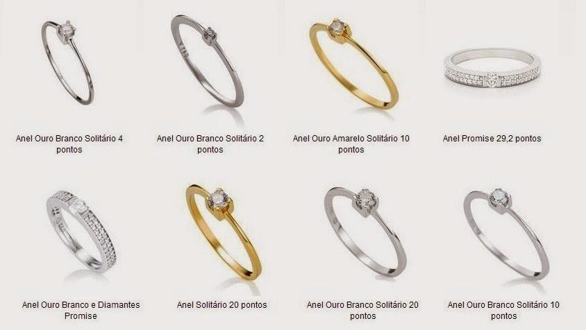 Onde comprar alianças, anel de noivado e joias na internet  lista de  joalherias online e com lojas físicas de grifes conhecidas - Noiva com  Classe 29fa66749c