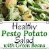 ALMOND PESTO POTATO SALAD WITH GREEN BEANS