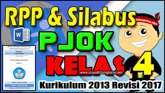 RPP dan Silabus PJOK Kelas 4 Kurikulum 2013 Semester 2