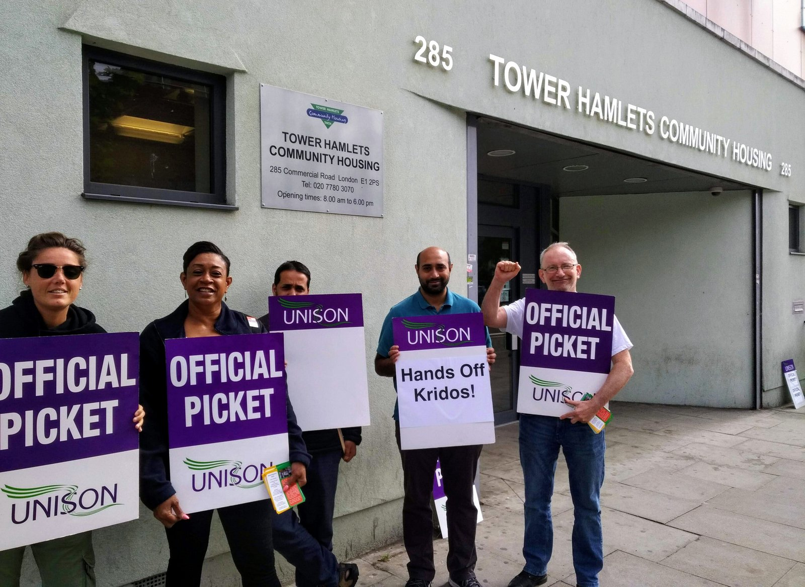 John S Labour Blog Tower Hamlets Community Housing Strike Over Pay