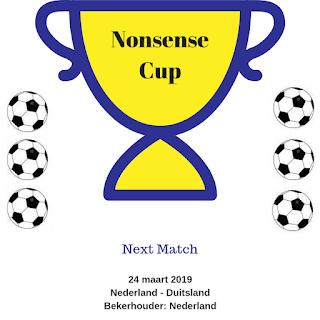 Nonsense Cup Nederland Duitsland 24 maart 2019