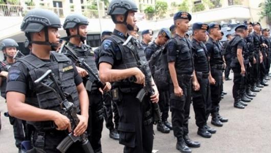 Pasukan Brimob Konsentrasi di Jakarta Sampai Oktober