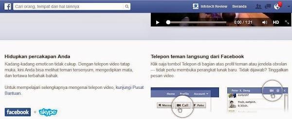 Cara Video Call di Facebook