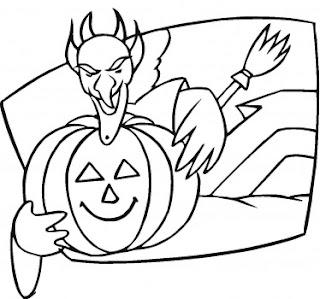 Printable halloween coloring pages: Printable Halloween