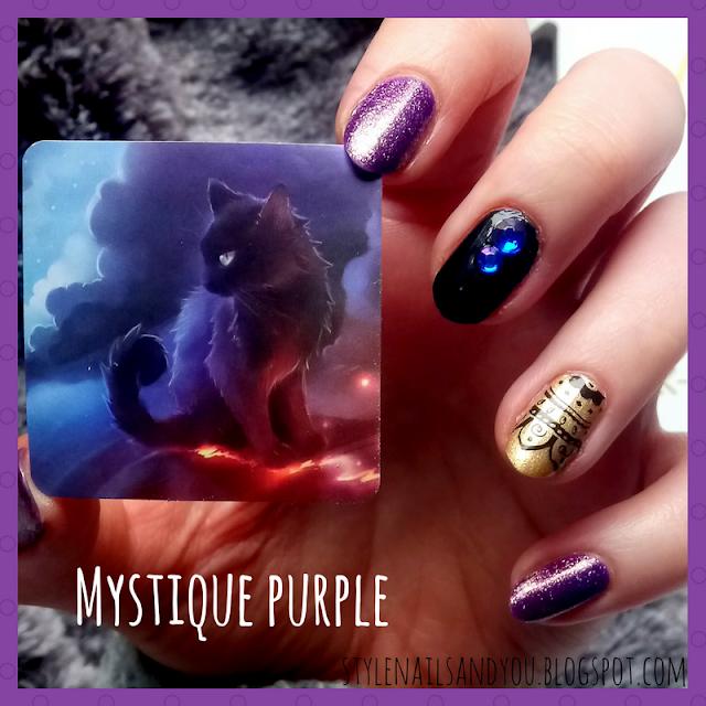 Mystique Purple   Blue Rhinestones   BeautyBigBang Review