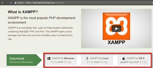 Cara Instal XAMPP - 1