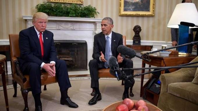 Trump slams Obama for 'inflammatory' statements