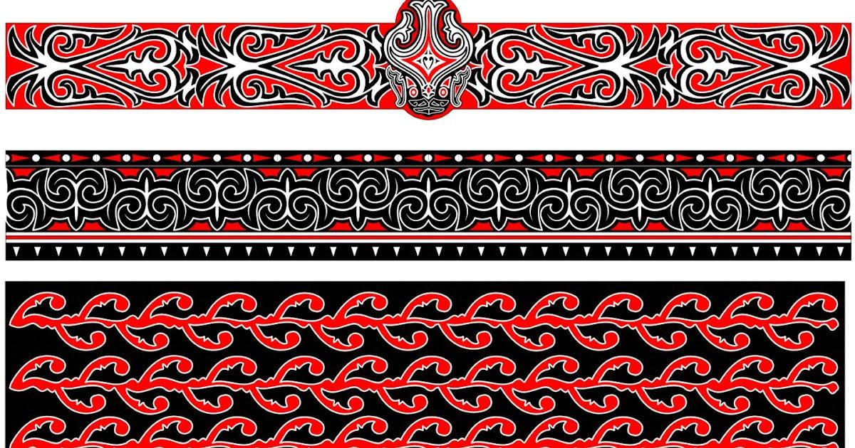 Lapo Natamaro: Motif/Corak Hias Ukiran dan Batik Batak 5