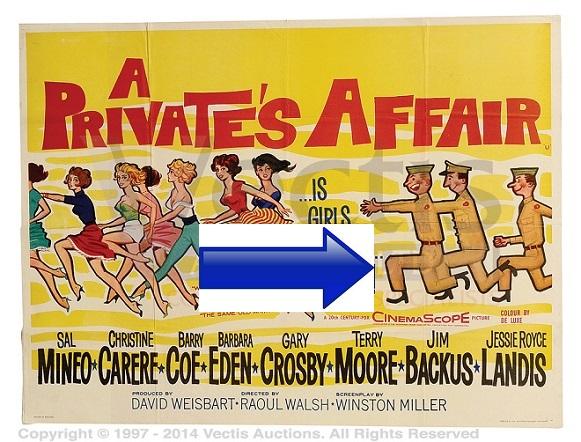 http://salmineofilmography.blogspot.com.es/2016/01/a-privates-affair-1959.html