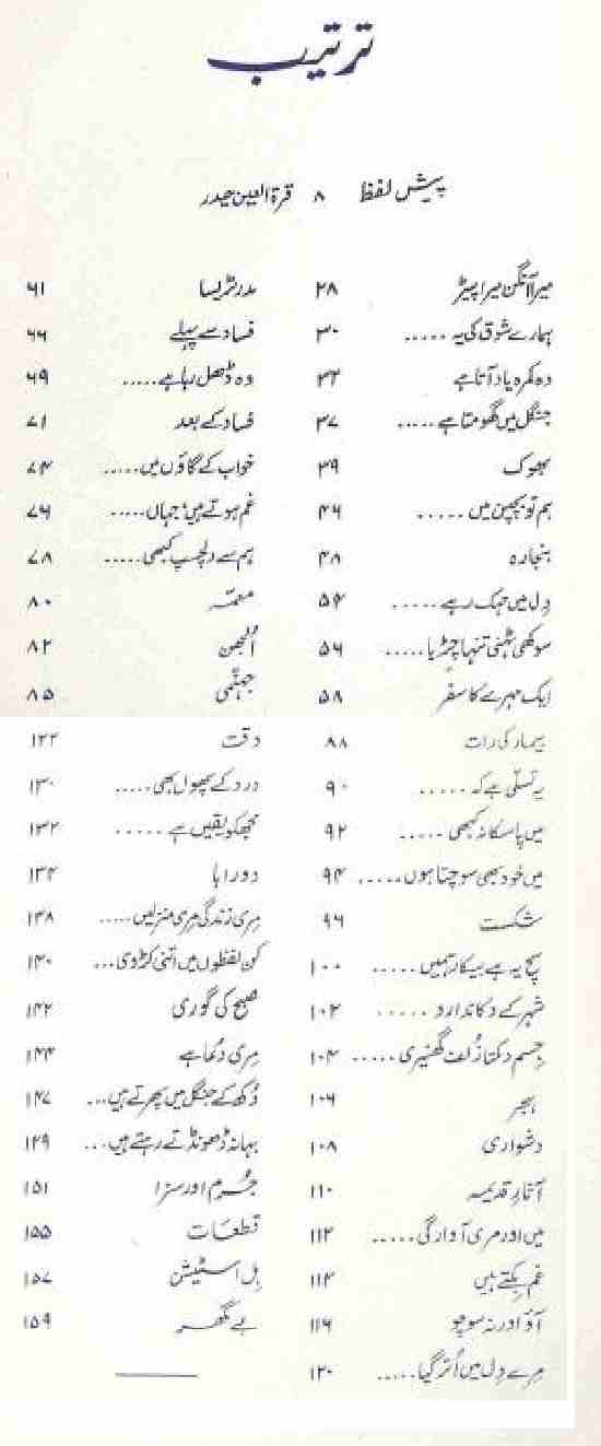 Urdu Poetry Book Tarkash by Jawed Akhter
